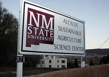NMSU at Alcalde Sign